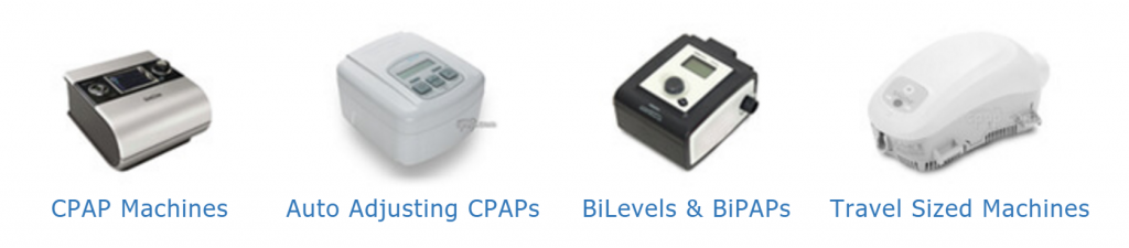 sleep apnea machine types