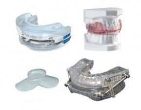 Oral appliance examples